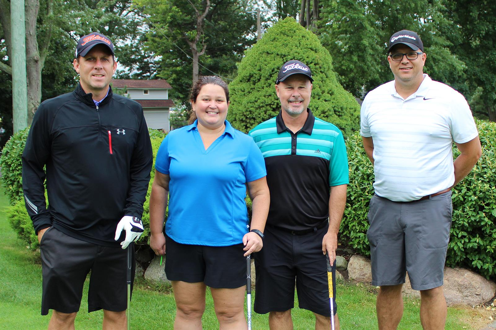 The winner of the mixed division for the Marlette Regional Hospital Foundation's Drive for Health Golf Scramble was McLaren Port Huron.