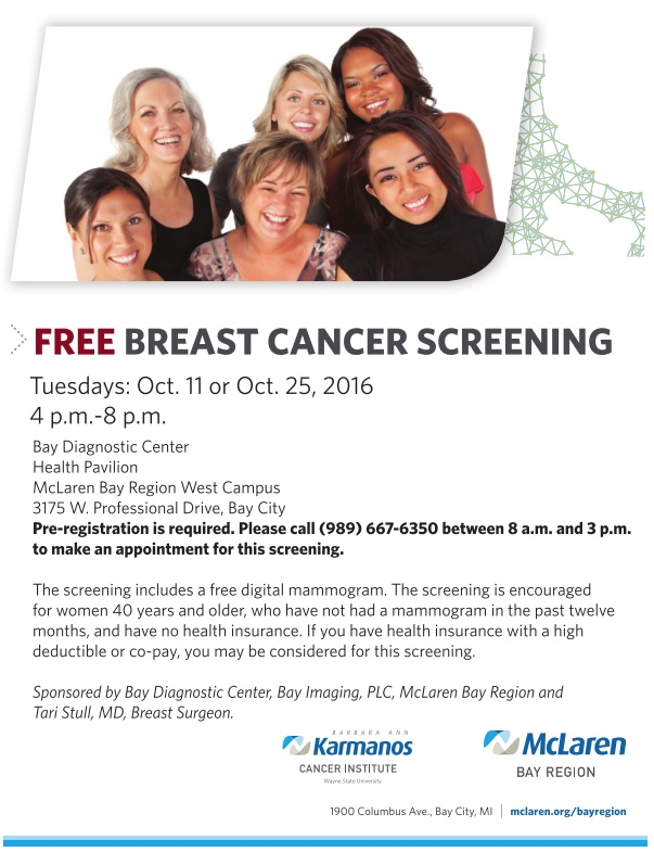 Free breast cancer screening arkansas